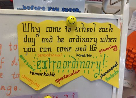 Be Extraordinary - Teaching with a Feather